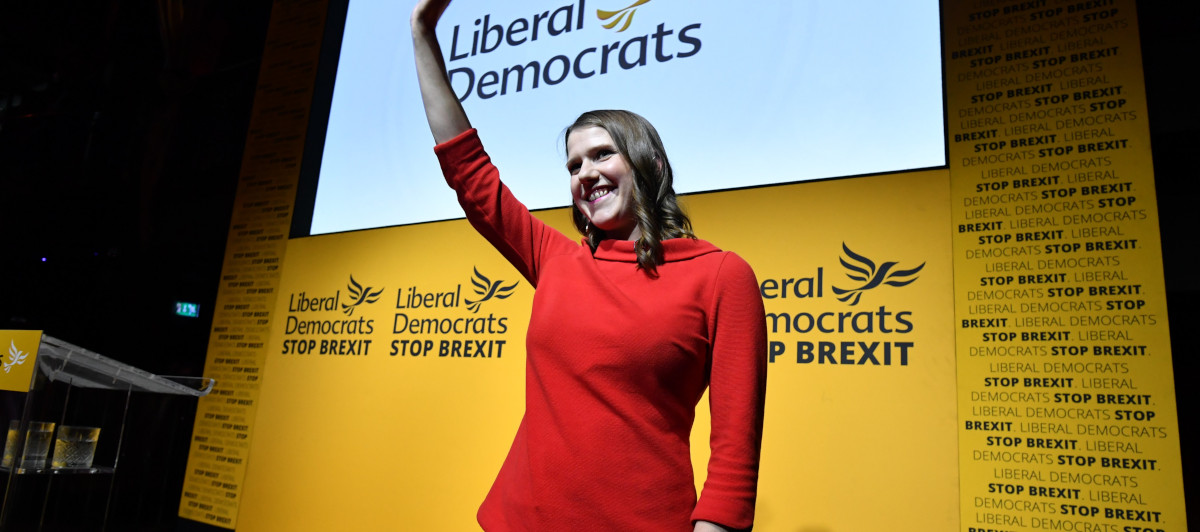 Jo Swinson, leader of the Lib Dems